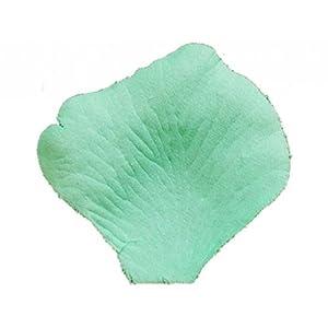 Koyal Wholesale 1000-Pack Silk Rose Petals, Honeydew Mint Green