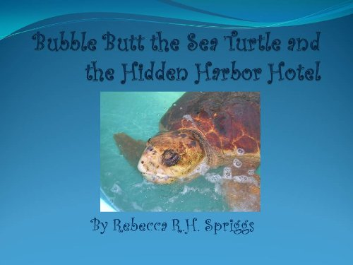 Bubble Butt the Sea Turtle and the Hidden Harbor Motel