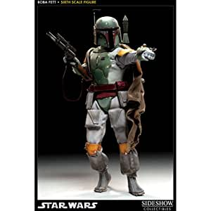 Sideshow Collectibles Star Wars 12 Inch Deluxe Action Figure Scum Villainy Boba Fett