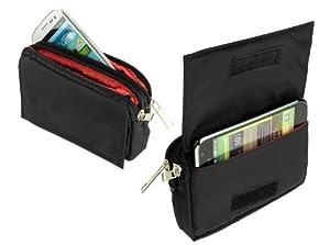 yayago -Travel-Case- Quertasche Hülle Tasche in Schwarz für Wiko Fizz
