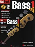 Hal Leonard Fast Track Bass Method Starter Pack - Includes Book/CD/DVD