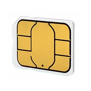 AU iPhone5 専用 純正Nano simカード(0.67mm) アクティベション アクティベートカードactivation