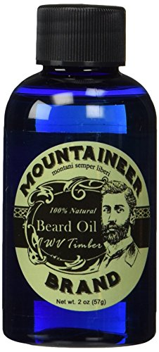Beard-Oil-by-Mountaineer-Brand-WV-Timber-Scented-with-Cedarwood-and-Fir-Needle-Conditioning-Oil-2-ounce-bottle
