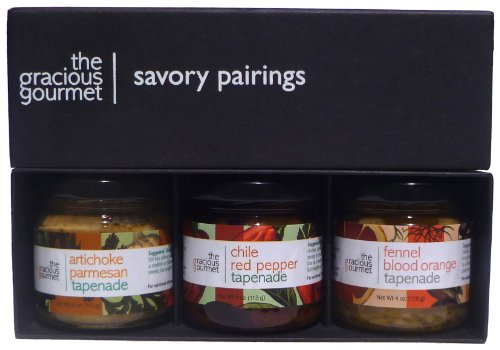 The Gracious Gourmet Savory Pairings, 12-Ounce Boxes