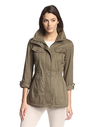 Jessica Simpson Women's Roll-Sleeve Field Jacket