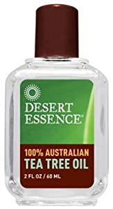 Desert Essence - TEA TREE OIL 2 OZ NEW