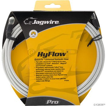 Buy Low Price Jagwire HyFlow Disc Hose Sterling Sil 3000mm Req Jagwire HyFlow Quick-Fit Kit (HBK408)