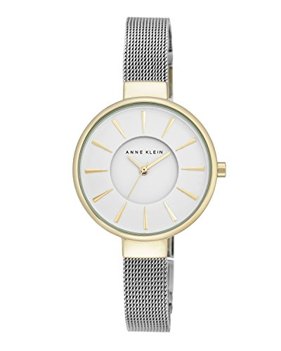 anne-klein-womens-maya-quartz-watch-with-white-dial-analogue-display-and-silver-alloy-bracelet-ak-n2