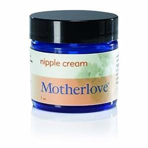 Motherlove Nipple Cream Certified Organic Salve for Sore Cracked Nursing Nipples, 1oz Glass Jar