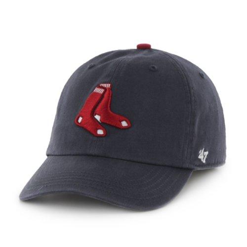 Mlb Boston Red Sox Men'S '47 Brand Alternate 1 Clean Up Cap, Navy, One-Size