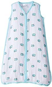aden + anais classic sleeping bag, jungle jam - elephant, medium