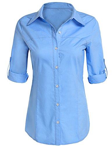 Womens Longer Tail Long Sleeve Oxford Shirt  amazoncom