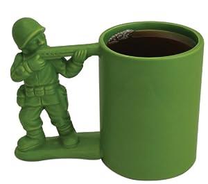 Big Mouth Toys Green Army Man Mug by Big Mouth Toys