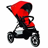 Phil And Teds Navigator Stroller Cherry