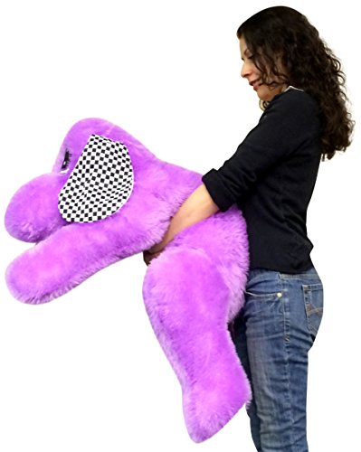 Big-Plush-Giant-Stuffed-Purple-Puppy-Dog-40-Inches