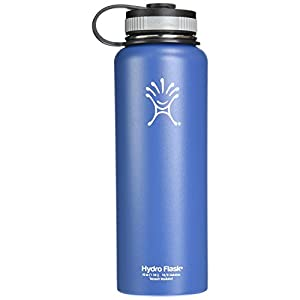 Hydro Flask 40oz Wide Mouth Insulated Bottle Everest Blue One Size