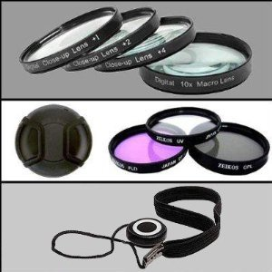 Professional Filter Kit For Nikon D90 with 18-105mm Lens