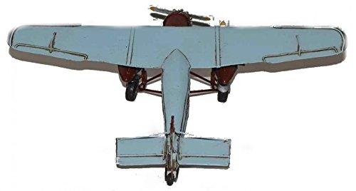 Model Plane Ford NC609 - Retro Tin Model