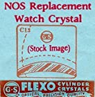 CMX345-13G Wittnauer Chelsea NOS G-S Flexo Replacement Wristwatch Watch Crystal