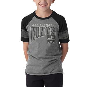 NHL Los Angeles Kings Playball Tee, Slate Grey by
