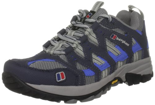 Berghaus Women's Prognosis Grey/Dazzle Blue Hiking Shoe 4-80070Gao 5.5 UK