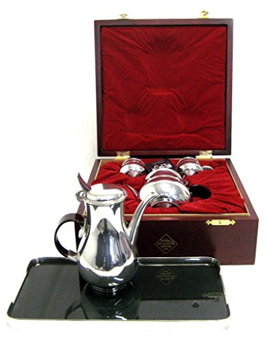 Gerald Benney Royal Selangor pewter tea and coffee service (Pewter Tea Service compare prices)