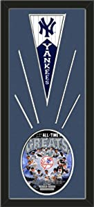 New York Yankees Wool Felt Mini Pennant & New York Yankees All Time Greats... by Art and More, Davenport, IA