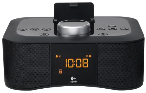 Logitech S400I 30-Pin Ipod/Iphone Alarm Clock Speaker Dock