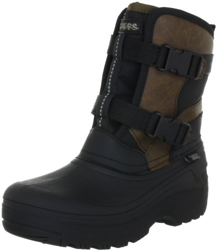 Skechers Brumal Breakthrough Boots Boys Black Schwarz (BKBR) Size: 33.5