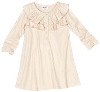 Splendid Littles Baby-Girls Infant Sparkle Ruffle Dress, Gold, 6-12 Months