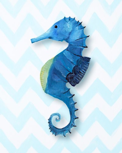 Cici Art Factory Paper Print Wall Hanging, Seahorse
