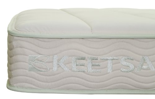 Keetsa Eco-Friendly Memory Foam w/ Spring Mattress Queen 9inches Bio Foam