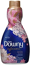 Downy Ultra Infusions Honey Flower Liquid Fabric Softener 48 Loads 41 Fl Oz (5 pack)