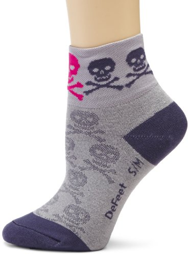 Image of DeFeet Women's Aerator Skully Sock (AIRSK101-P)