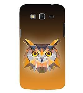 Ullu Owl Hoot 3D Design 3D Hard Polycarbonate Designer Back Case Cover for Samsung Galaxy Grand i9080 :: Samsung Galaxy Grand i9082