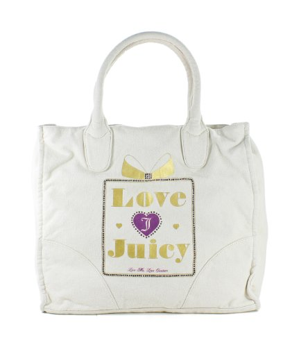 Juicy Couture Love Juicy Power Tote Zip Briefcase Angel
