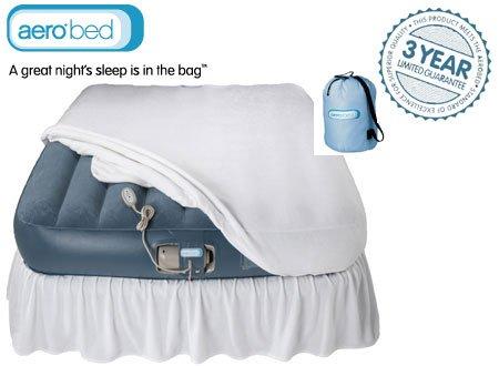 matratzen testbericht luftbett aerobed premier raised king luftmatratze aufblasbares. Black Bedroom Furniture Sets. Home Design Ideas