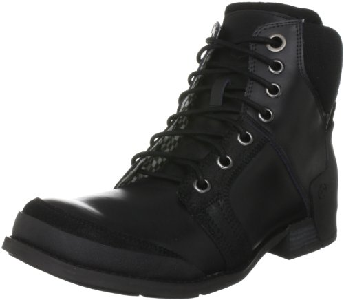Firetrap Men's Monroe Leather II Black Lace Up Boot FT101170 7 UK