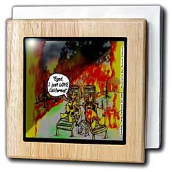 HOT Vacations In California - 6 Inch Tile Napkin Holder