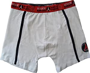 "Boxer short Calecon Homme - Collection officielle - PARIS SAINT GERMAIN PSG - football club "" Supporter "" - Ligue 1 - Taille adulte (XXL)"