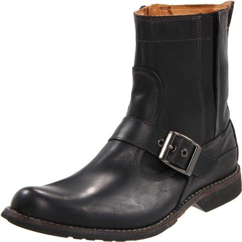 Timberland Men's Earthkeeper City Side Zip Buckle Boot,Black,12 M US