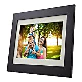 ViewSonic VFD1028w-31 10.1-Inch High Resolution 1024x600 Digital Photo Frame with Calendar Clock function and Auto on off feature (Espresso Finish)
