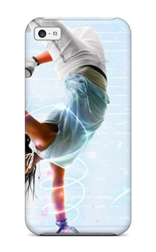 For Iphone Case, High Quality Hip Hop Dancer For Iphone 5C Cover Cases front-894543