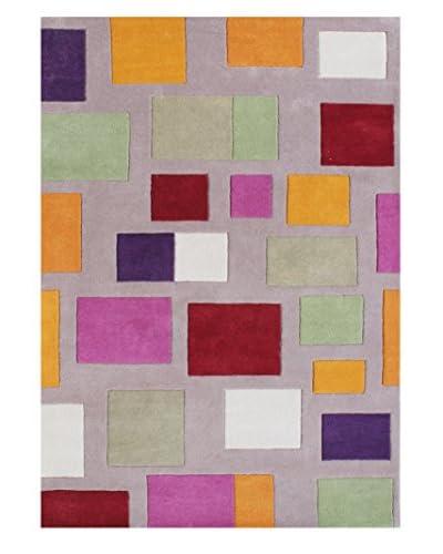 ZnZ Rug Gallery Handmade New Zealand Blend Wool Rug