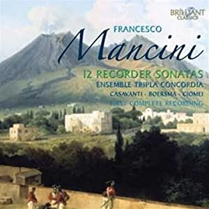 Mancini:12 Sonates Pour Flute a Bec