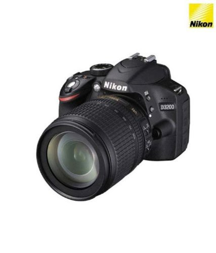 Nikon-D3200-242MP-Digital-SLR-Camera-Black-with-18-105mm-VR-II-Kit-Lens-8GB-Card-and-Camera-Bag