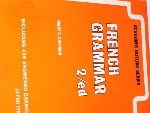 Schaum's outline of French grammar (Schaum's outline series) PDF