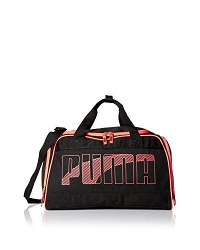 PUMA Men's Sweeper 20 Duffel Bag, Black/Red
