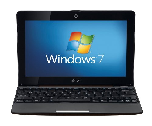 Asus 1008P 10.1-inch Netbook (Intel Atom N540 1.66 GHz Processor, 1 GB RAM, 250 GB HDD, up to 6 Hours Battery, WLAN, Bluetooth, Webcam, Windows 7 Starter, Brown)