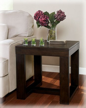Cheap Watson Dark Brown Square End Table (T481-2)